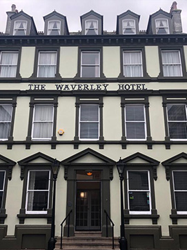 The waverley Hotel, Whitehaven